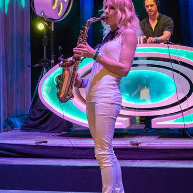 Saxofoniste Kirsten - HMH