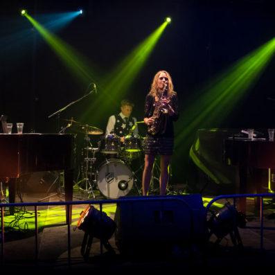 Saxofoniste Kirsten - Pumpin Pianos
