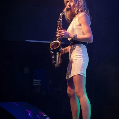 Saxofoniste Kirsten - A9 Studios