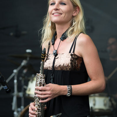 Saxofoniste Kirsten